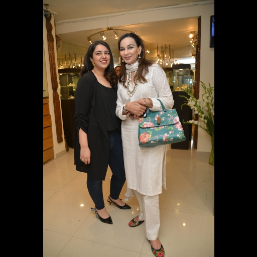 Sundus Talpur and Sherry Rehman