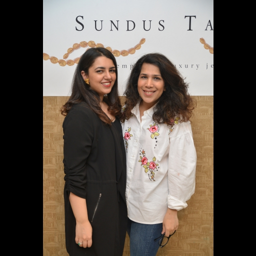 Sundus Talpur and Zainab