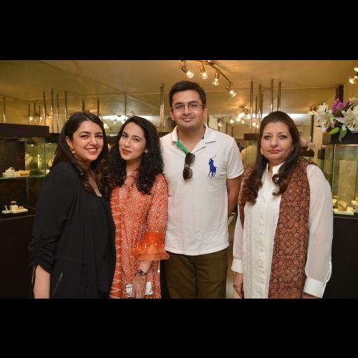 Sundus Talpur, Faryal,  Armaghan and Saba Talpur