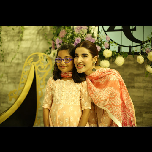 Hareem with Zainab's daughter