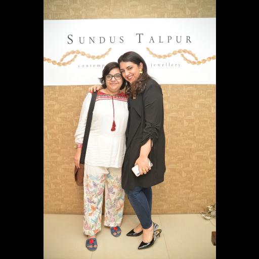Ghausia and Sundus Talpur