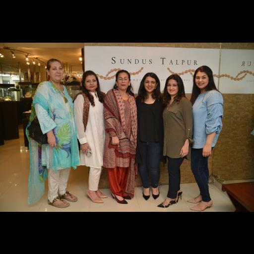 Laleh, Saba, Sanam Bhutto, Sundus, Sana and Marvi