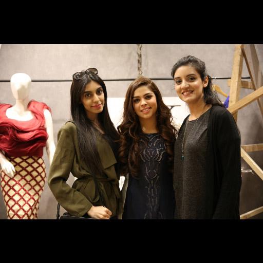 Mahwish, Natasha and Habiba