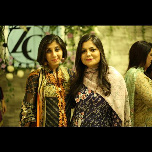 Maliha Rehman and Zainab Chottani