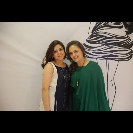 Natasha Kamal and Hina Khawaja Bayat
