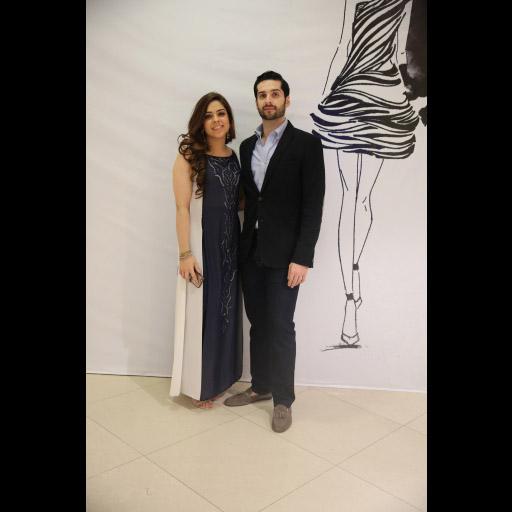 Natasha Kamal and Shahmeer Kamal