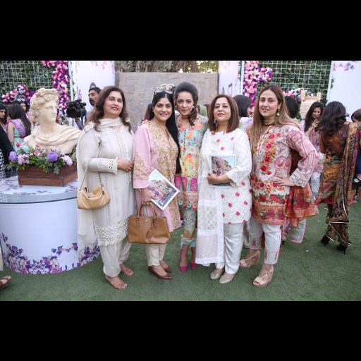 Maliha Aziz with Guests
