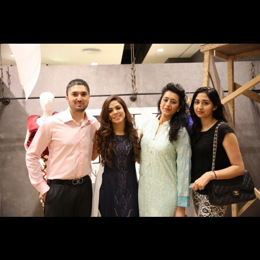 Omar Bayat, Natasha Kamal and friends