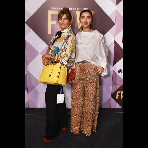 Frieha Altaf and Yasmeen Hashmi