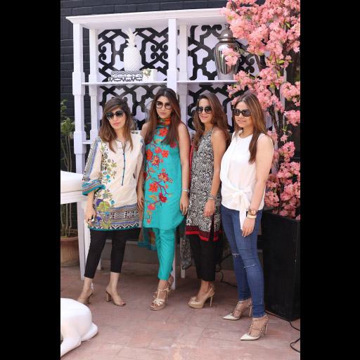 Palwasha Yousuf, Mahin Nawaz, Tehmina Ali and Iman Ali