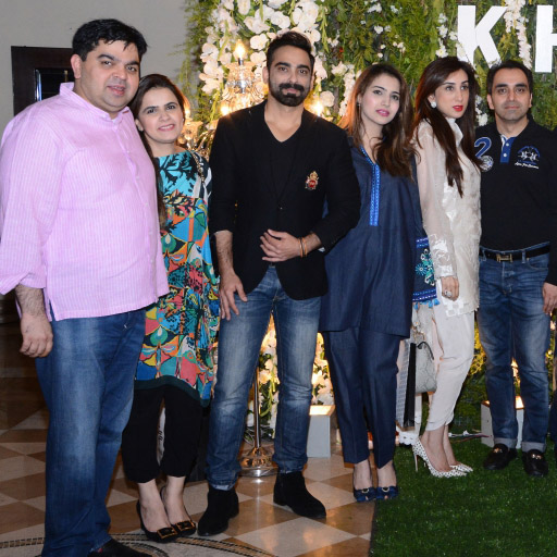 Waqas Hajra Haroon Komal Sadia and Mansoor