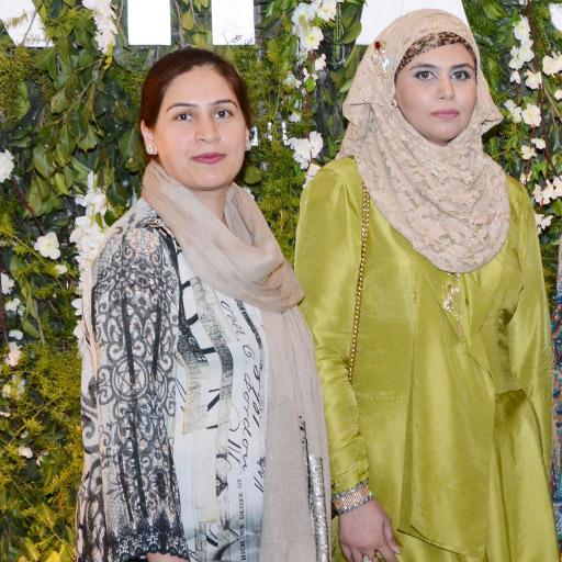 Faiza Sajjad and Fatima Abid (Wife Abid Sher Ali)