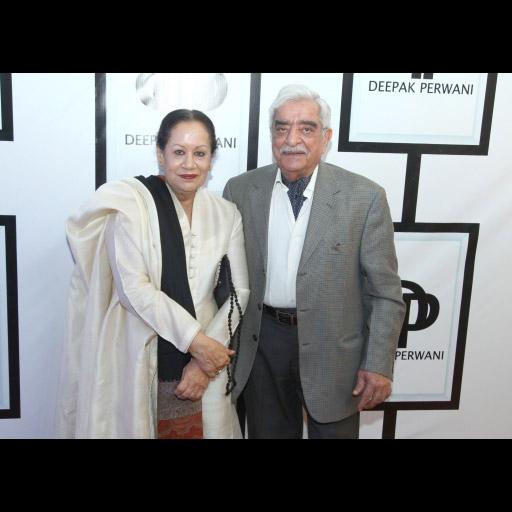 Rana Shaikh with Najam Shaikh