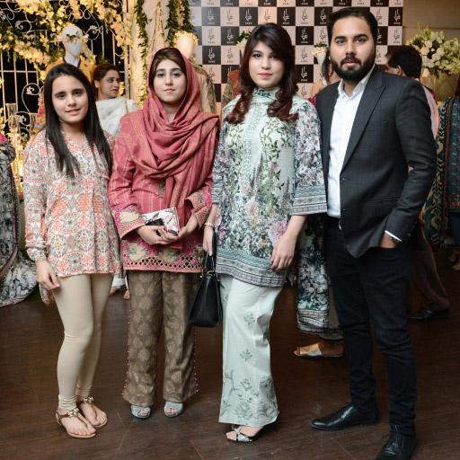 Mareeha, Saniya, Momina and Saad