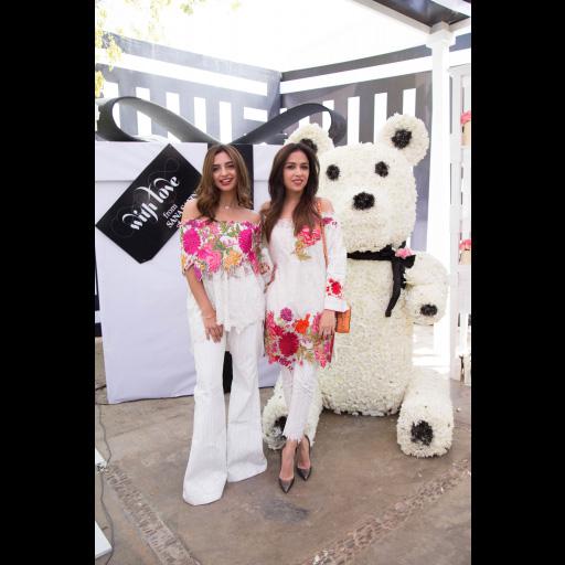 Yasmeen Hashmi and Maha Burney