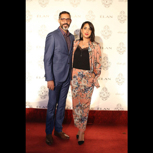Akbar Hussain and Aleena Naqvi