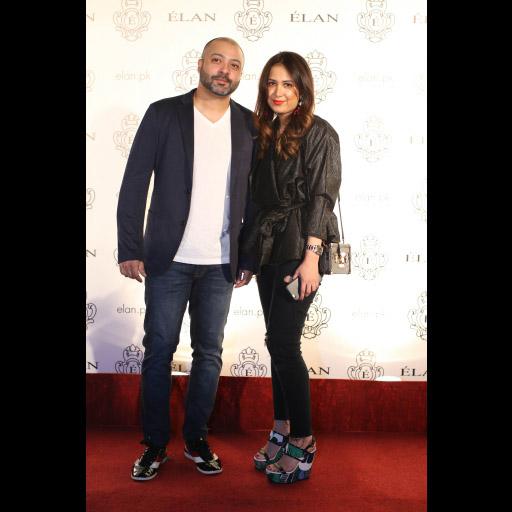 Ali Asad and Samina Khan
