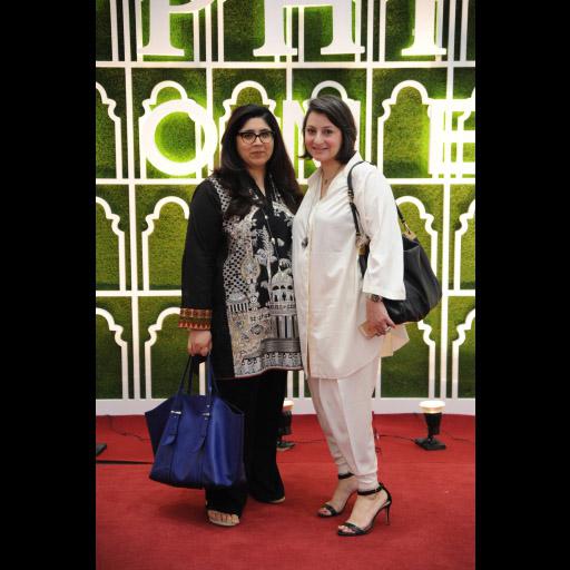 Aamna Haider Isani and Zahra Hidayatullah