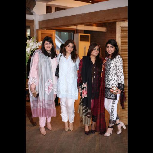 Selina R. Khan, Nafisa Khalid, Zainab Chottani and Sadaf Zarrar