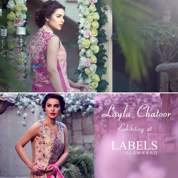 Layla Chatoor Luxury Pret Exhibition at LABELS Islamabad
