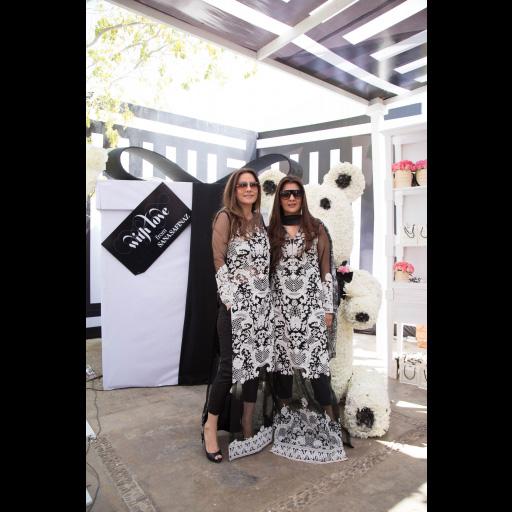 Safinaz Muneer and Sara Najmi Bilgrami