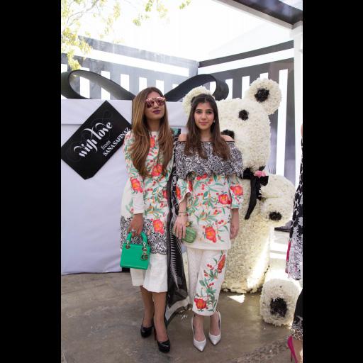 Nimra ghumro and Sanya pervez