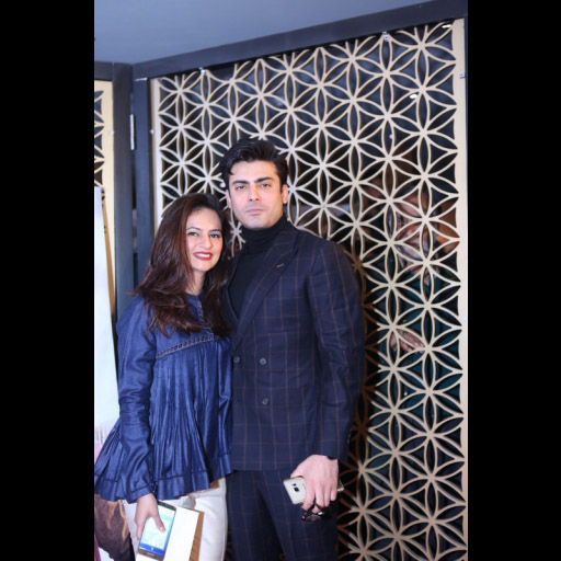 Fawad Khan and Sadaf