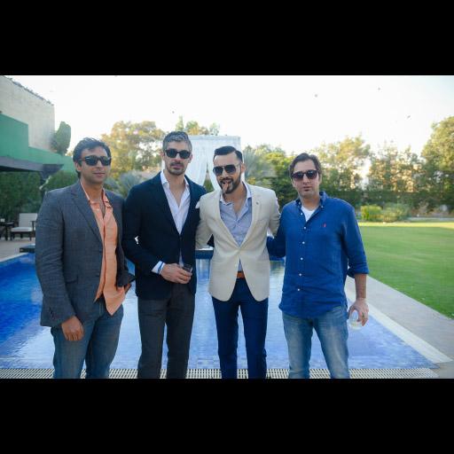 Omar Ahmed, Shehryar Khawaja, Imran Baig, Sameer Dada