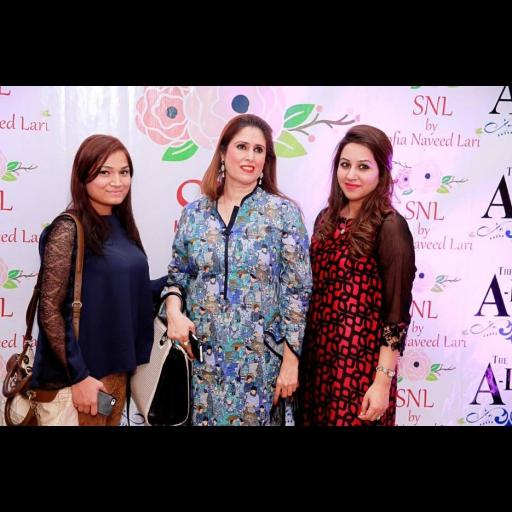Sofia Naveed Lari and Tehmina Khalid