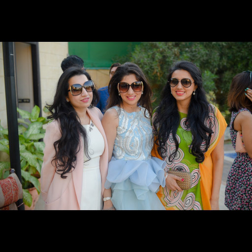 Saba and Fiza with friend