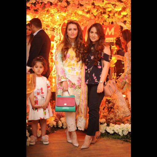 Faria and Hirra Waqas