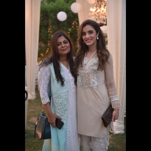Zainab Chottani and Zainab Jamil