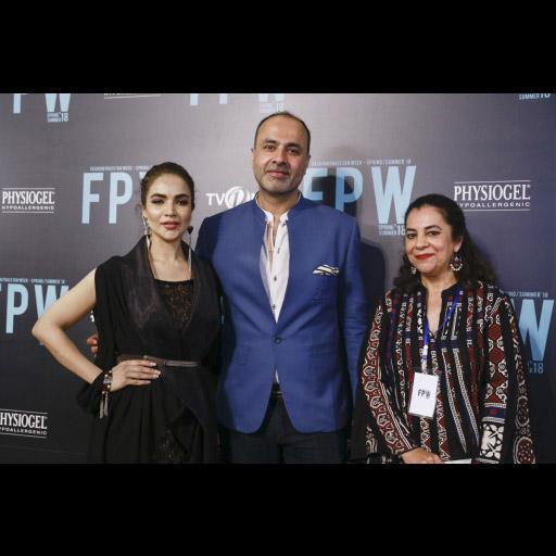 Deepak Perwani and team with Sarwat Gillani