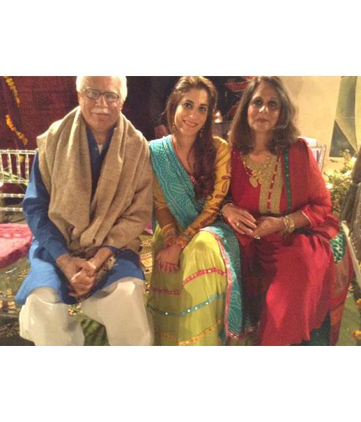 Maheen Bajwa in a YJ lengha choli