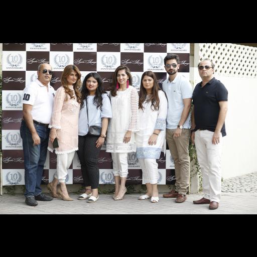 Sohail Ahmed, Ayesha Sohail, Saania Ahmed, Fahd Ahmed