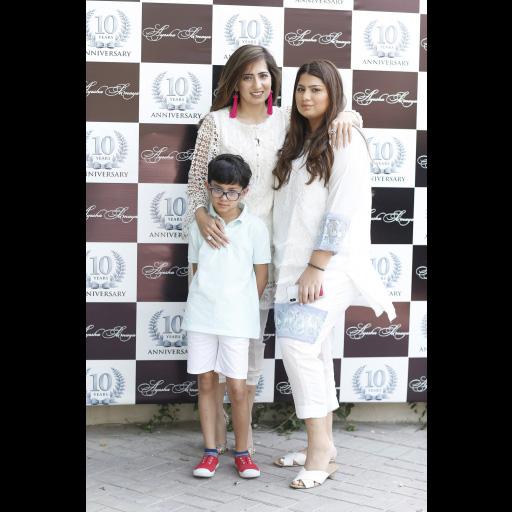 Somaya Adnan, Aysha Adnan, Aarez Adnan