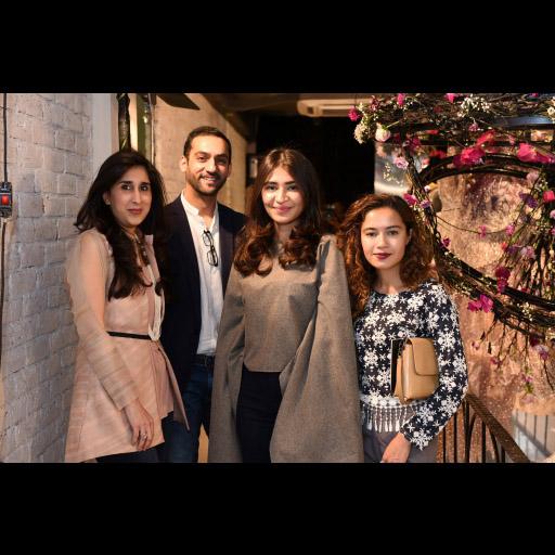 Amna Zaidi, Hammad Sadiq, Mehek Saeed and Haiya Bokhari