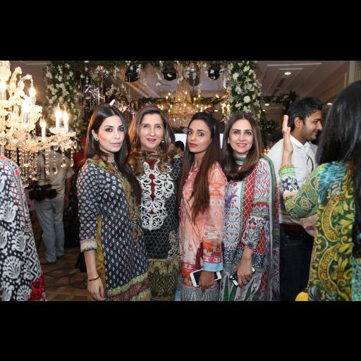 Maheen Taseer, Anila Shah, Rema Taseer and Aamna Taseer