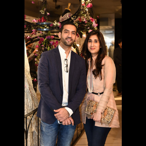 Hammad Sadiq and Amna Zaidi
