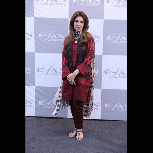 Maheen Karim wearing Elan Lawn