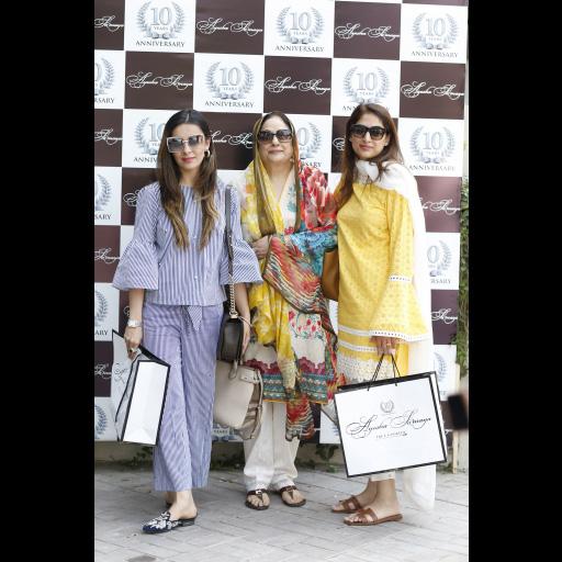 Zainab Salman, Seema Sajjad, Ayesha Rahim