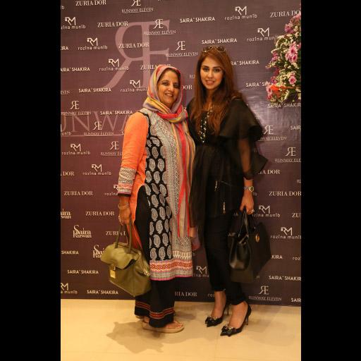 Shahnaz Ramzi, Saira Rizwan