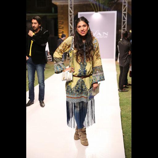 Maira Pagganwala wearing Elan Lawn