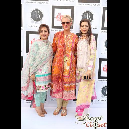 Farah Talib, Shaneira, and Maliha Aziz