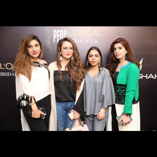 Nimrah Khokar, Faaria Waqas, Nur Zehra and Mehak Ellahi