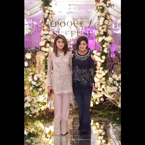 Nida Mansoor and Rafia Malik