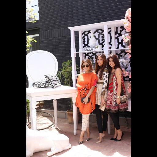 Soha Hafeez Sheikh, Sehr Pirzada and Sana Hafeez Sheikh