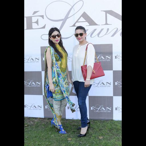 Maheen Ghani Taseer and Mona Faisal