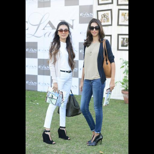 Mahgul Rashid and Ayesha Noon
