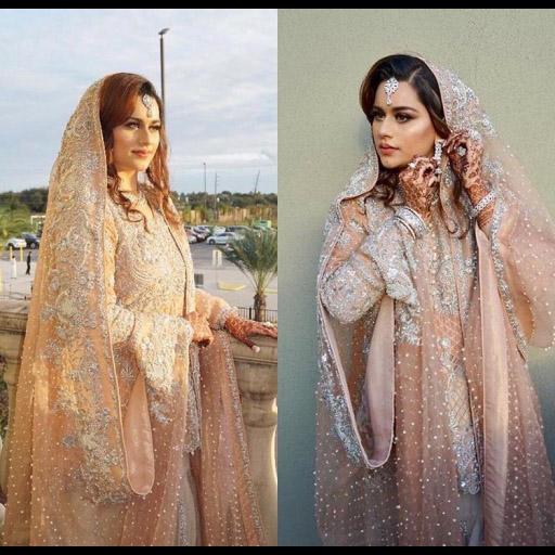 Bisma in Ayesha Somaya